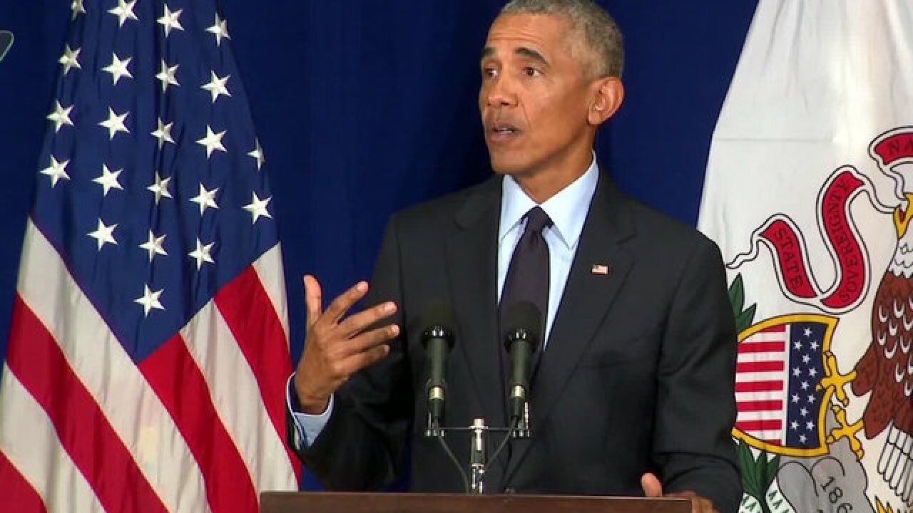 Obama implores Californians to vote