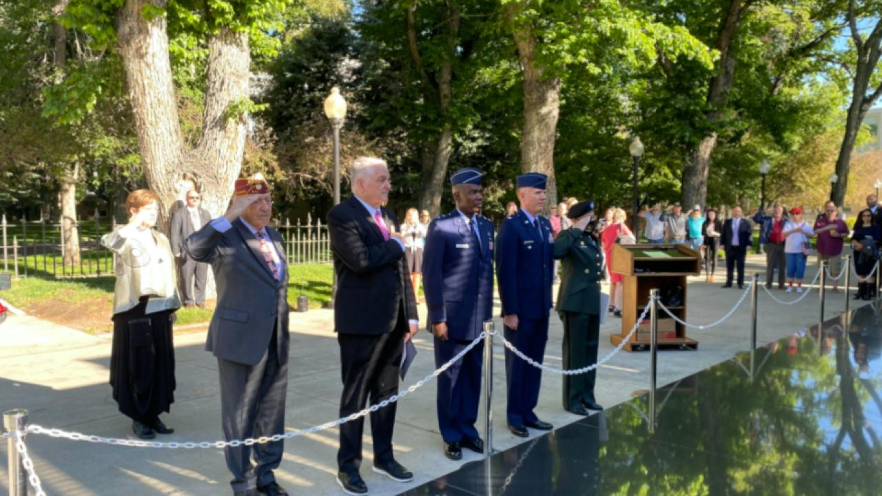Nevada Governor Sisolak Memorial Day 2021