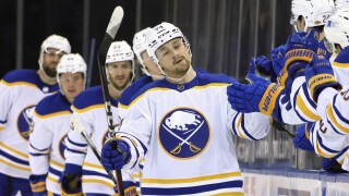 Sabres ink Asplund to two-year deal