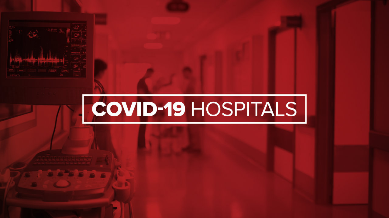 Hospitals worry about staffing shortage as employees test positive for COVID
