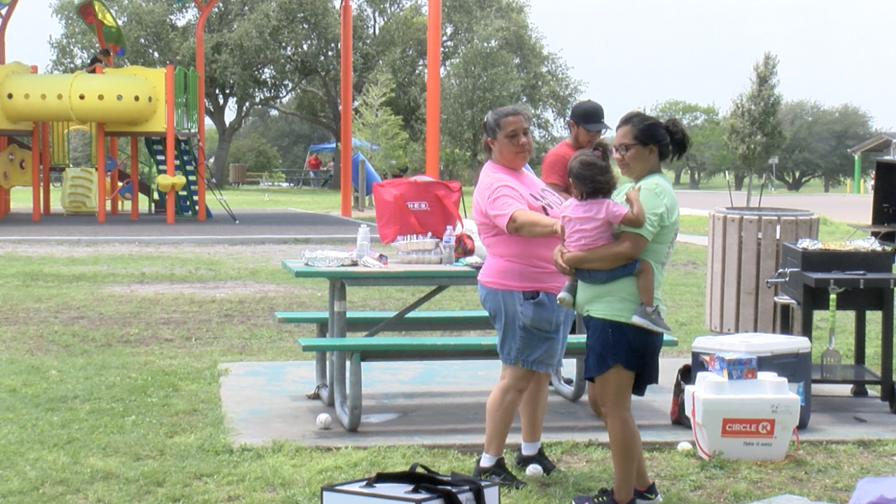 Families across the community enjoy Mother's Day at the park