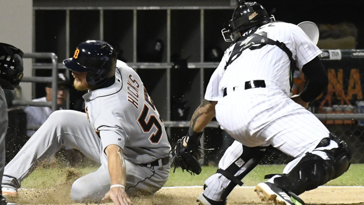 John Hicks, Victor Martinez lead Tigers to win over White Sox