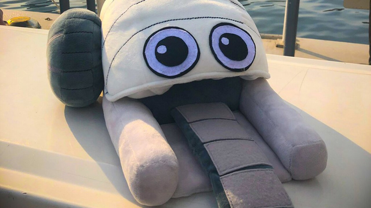 Mr. Trash Wheel toys offered in online campaign