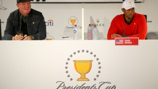 Tiger Woods and Ernie Els meet again, now as captains of Presidents Cup