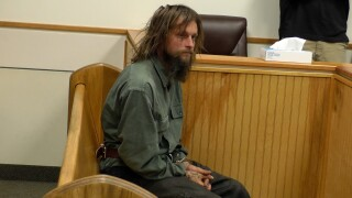 """""""Jesus Chris Quinn"""" appeared before Gallatin Justice Court Judge Bryan Adams on Monday"""