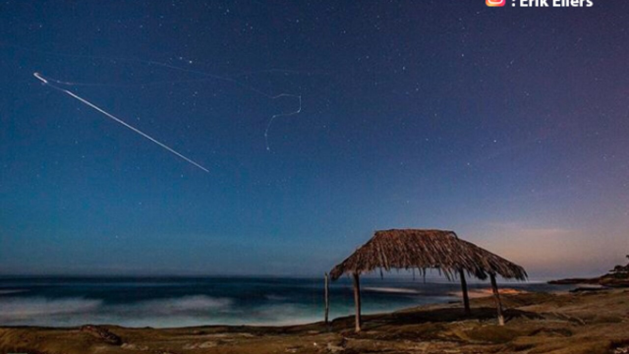 San Diegans catch a glimpse of Mars rocket launch from SoCal
