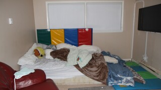 Max Paul's bedroom photo by Montgomery Police Department