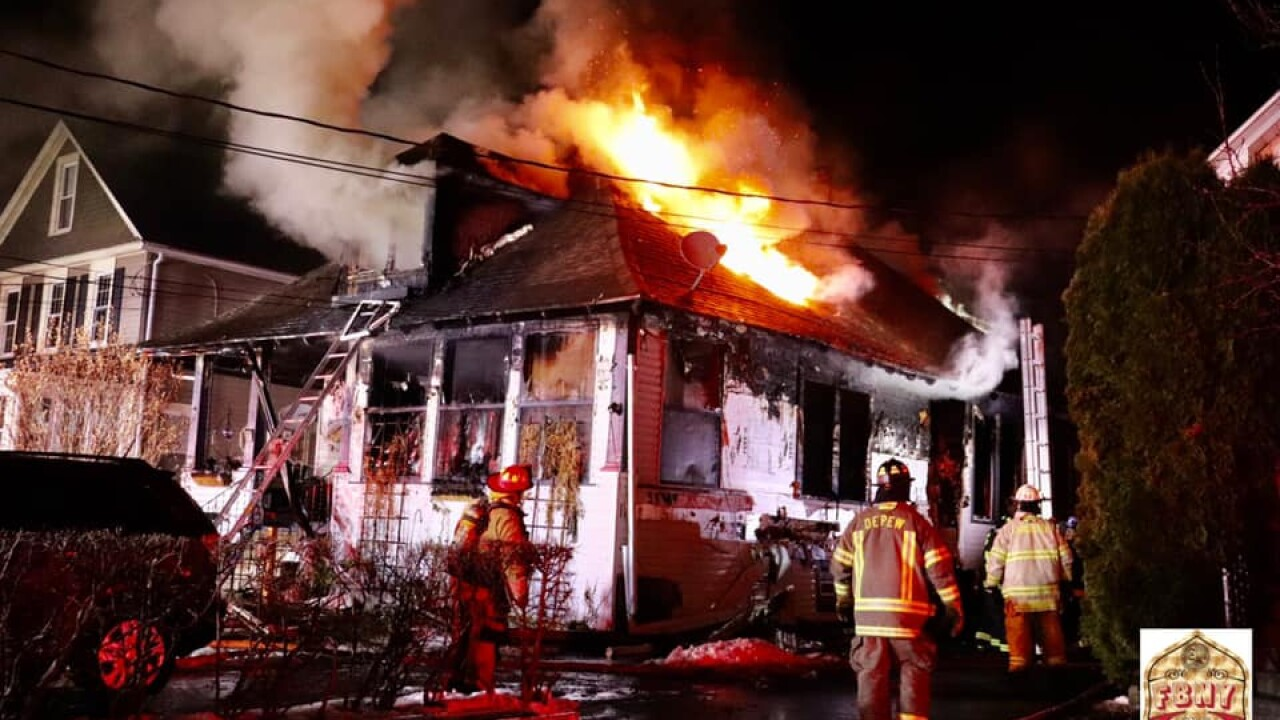 Weekend fire leaves mother and four children without a home