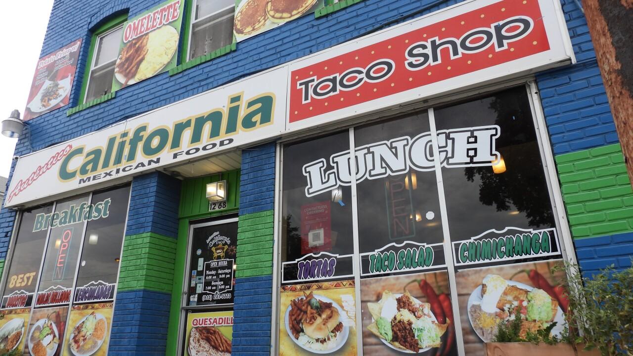 The California Taco Shop has a festive style.JPG