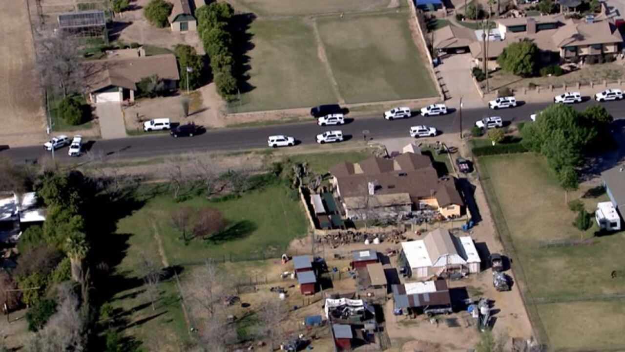 Police shooting near 47th Avenue and Greenway