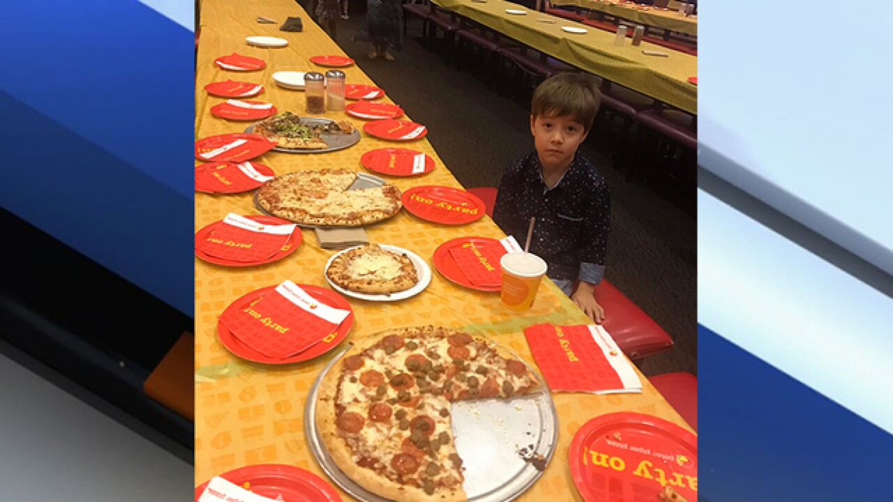 AZ 6-year-old holds b-day party, no one attends