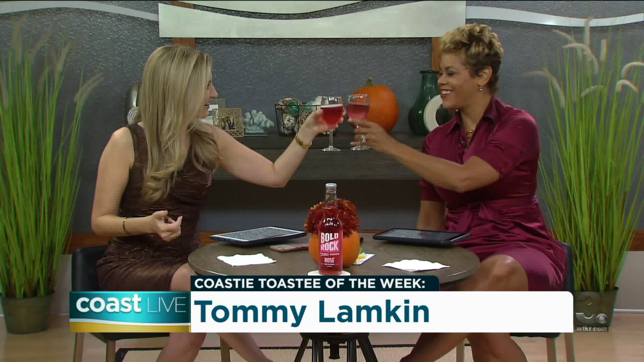 Toasting Tuesday with Bold Rock Rosé Hard Cider on CoastLive