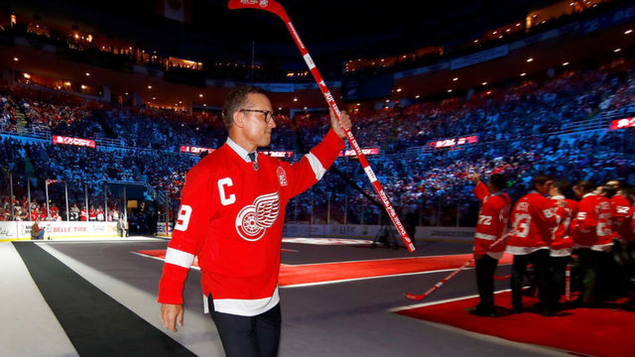 Detroit Red Wings to hold press conference with Steve Yzerman