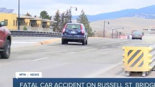 2 killed in wrong-way crash on Missoula's Russell Street Bridge
