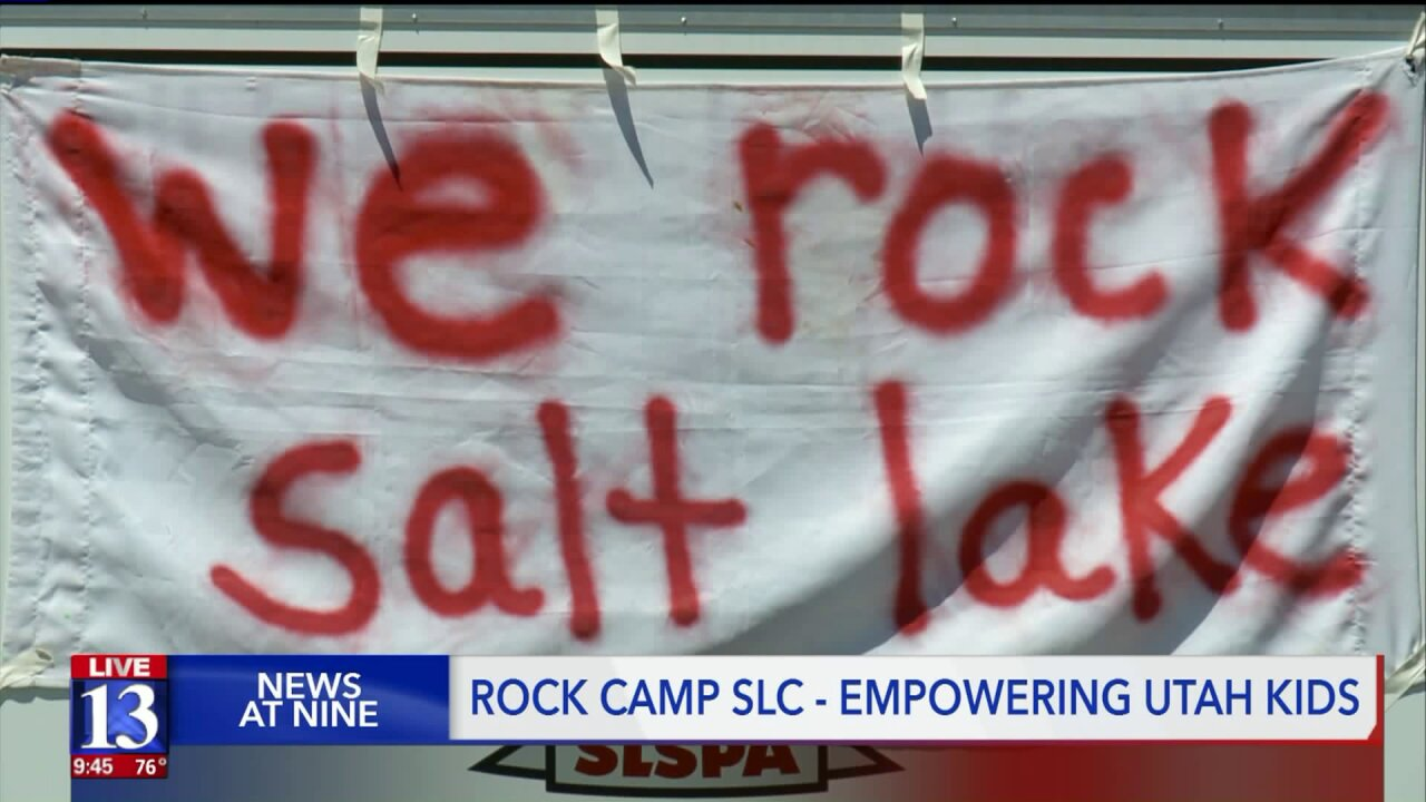 Playing at Rock Camp SLC: Music, empowerment for girls and gender-expansive youth