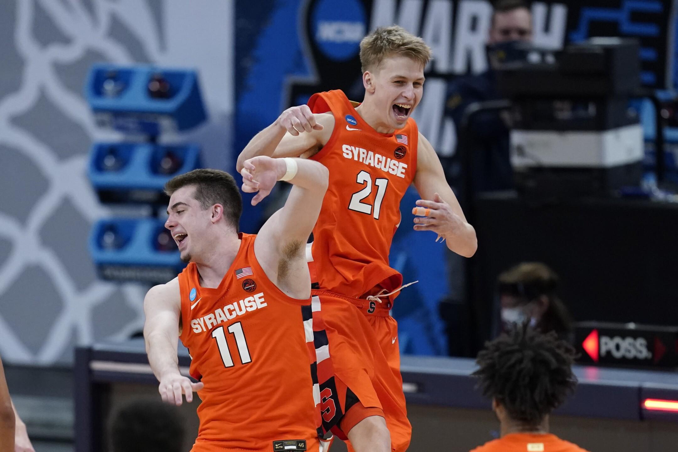 NCAA Syracuse West Virginia Basketball
