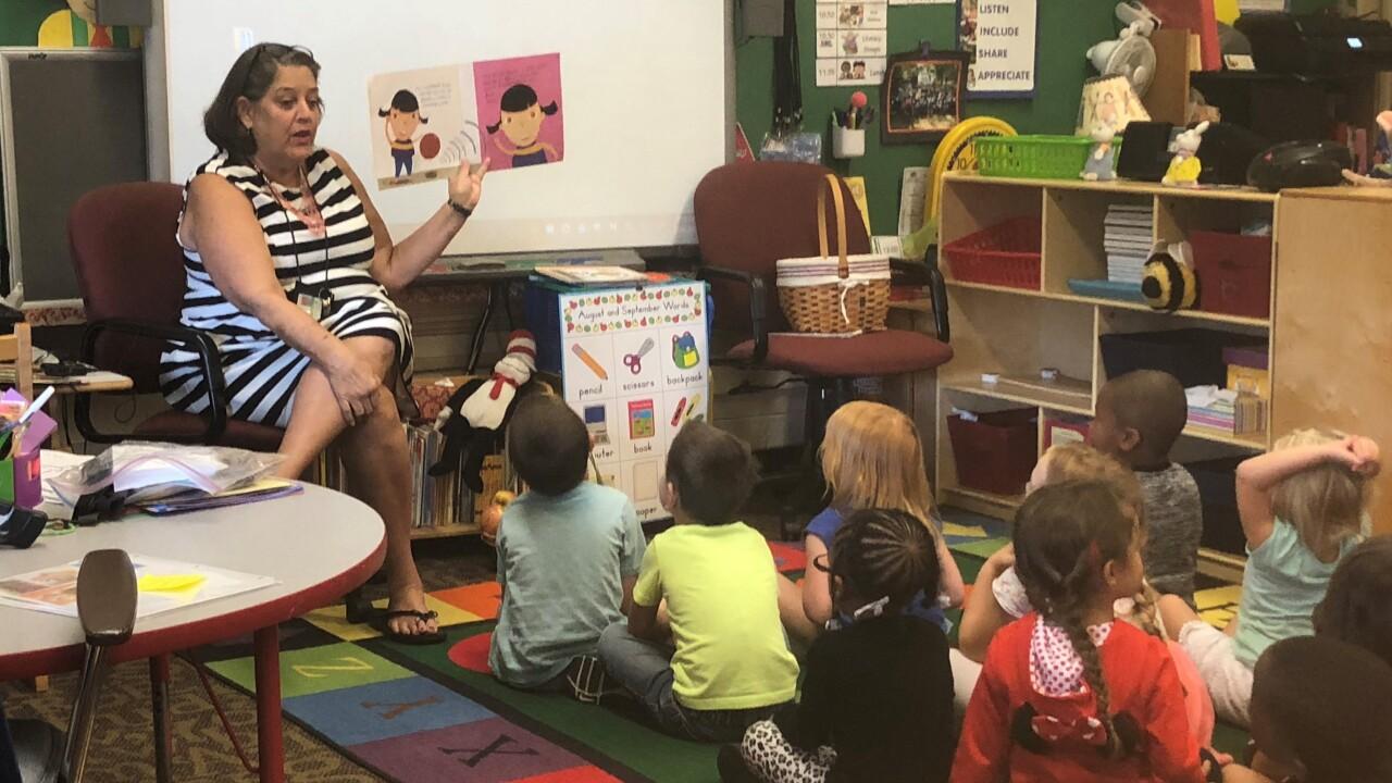 Norfolk Public Schools studying mixed-income preschoolclassrooms
