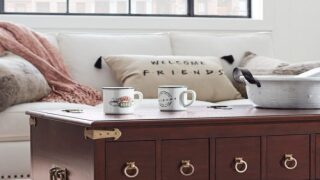 Pottery Barn Is Releasing A 'Friends'-themed Home Collection