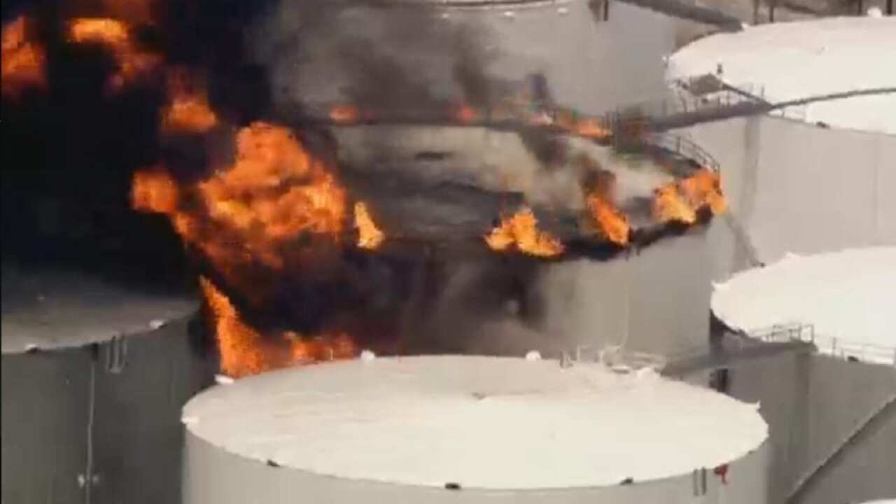 Fire breaks out at southeast Texas petrochemicals terminal