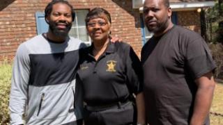 ZaDarius Smith and family