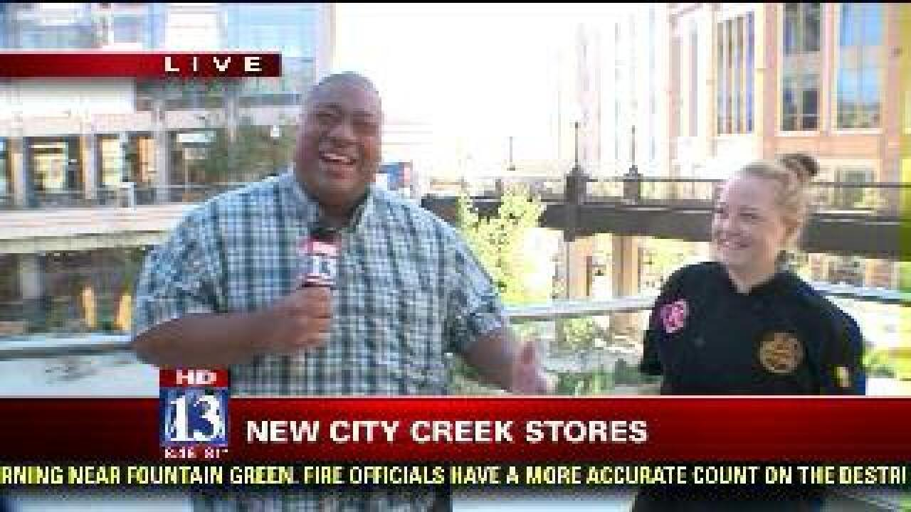 Budah down at City Creek