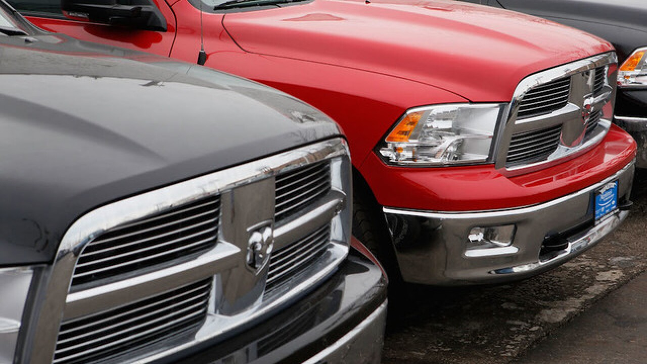 Fiat Chrysler recalls Dodge Ram pickup trucks because tailgate can fall unexpectedly