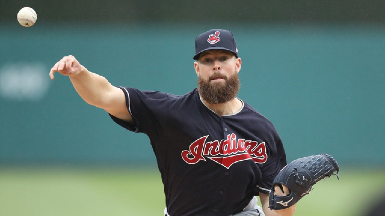 Indians' Corey Kluber continues dominance of Tigers, AL Central