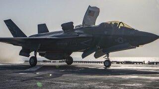 US Marine Corps F-35B jet crashes in South Carolina