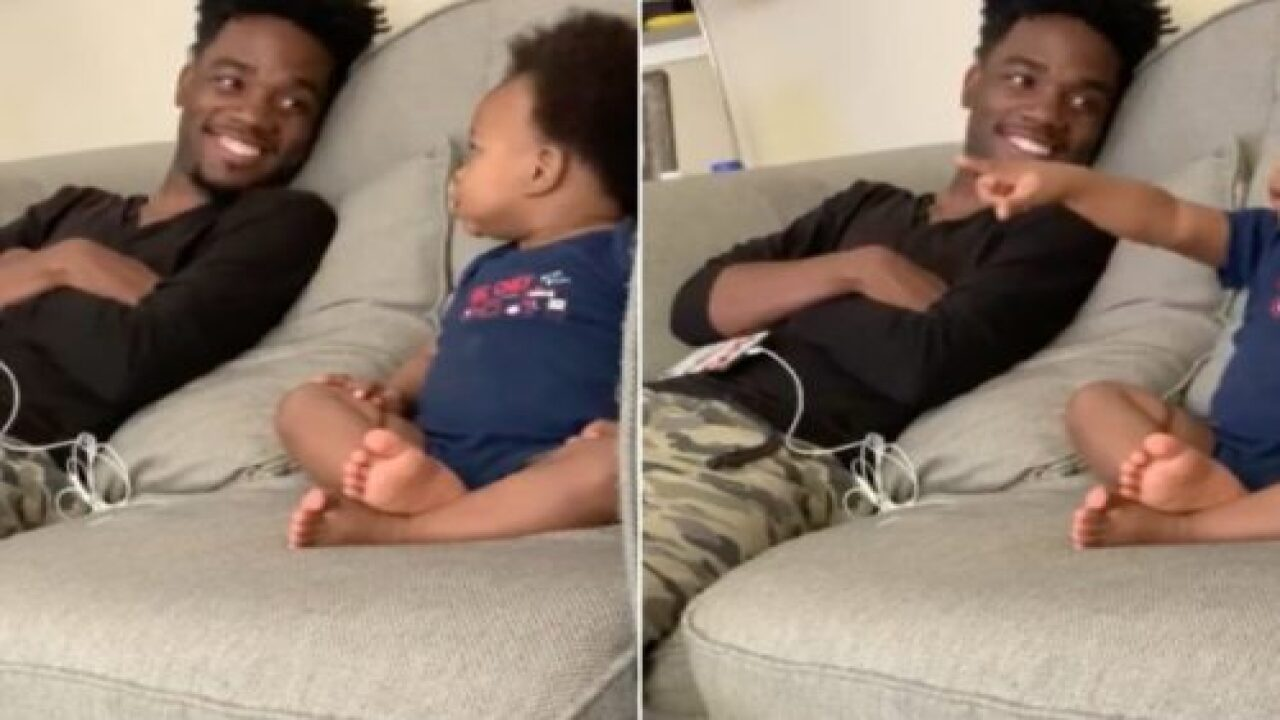 This Video Of A Baby Having A Full Conversation With His Dad Is Going Viral