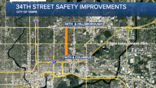 MAP OF 34TH STREET IMPROVEMENTS