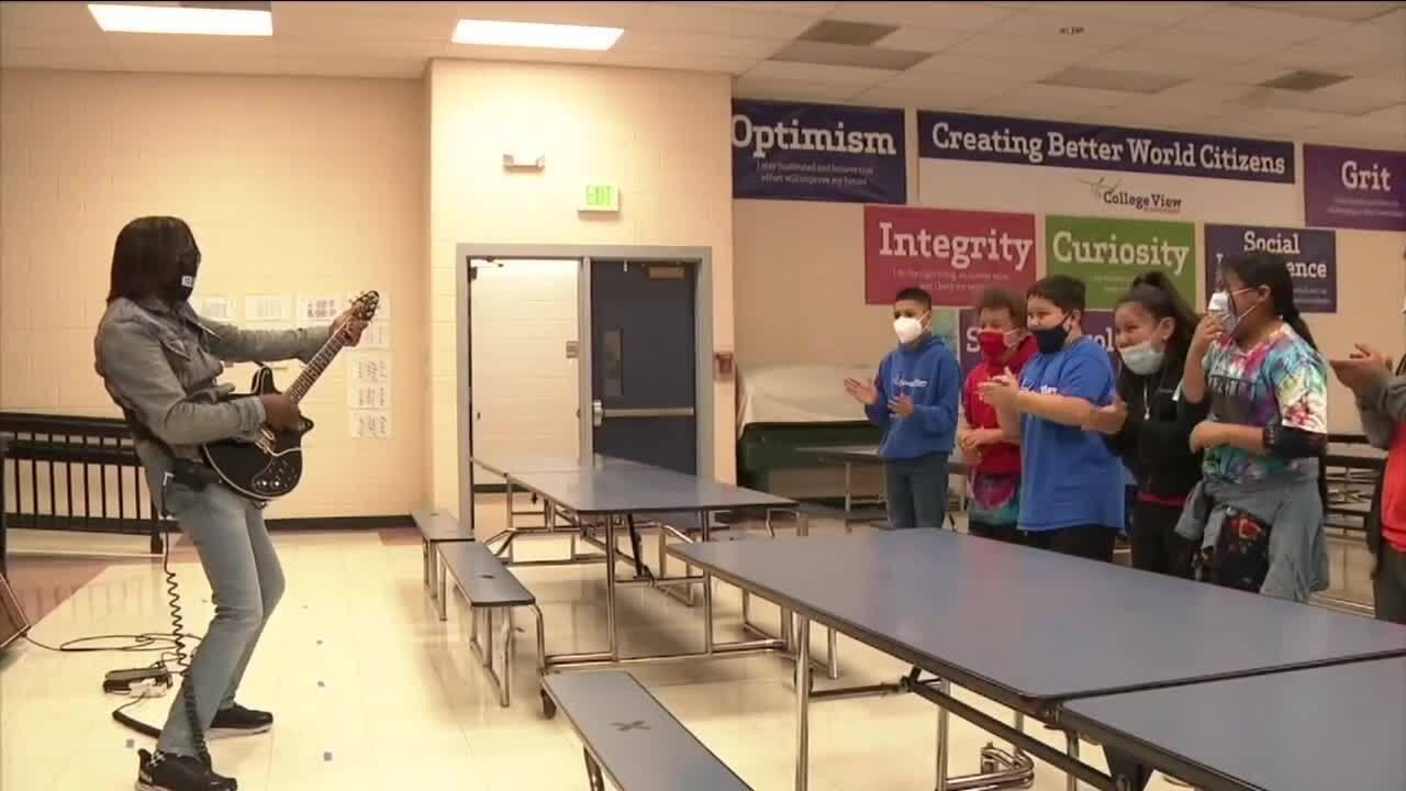 Kellindo Parker at Denver schools