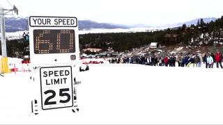 Video Extra: Snow shovel races
