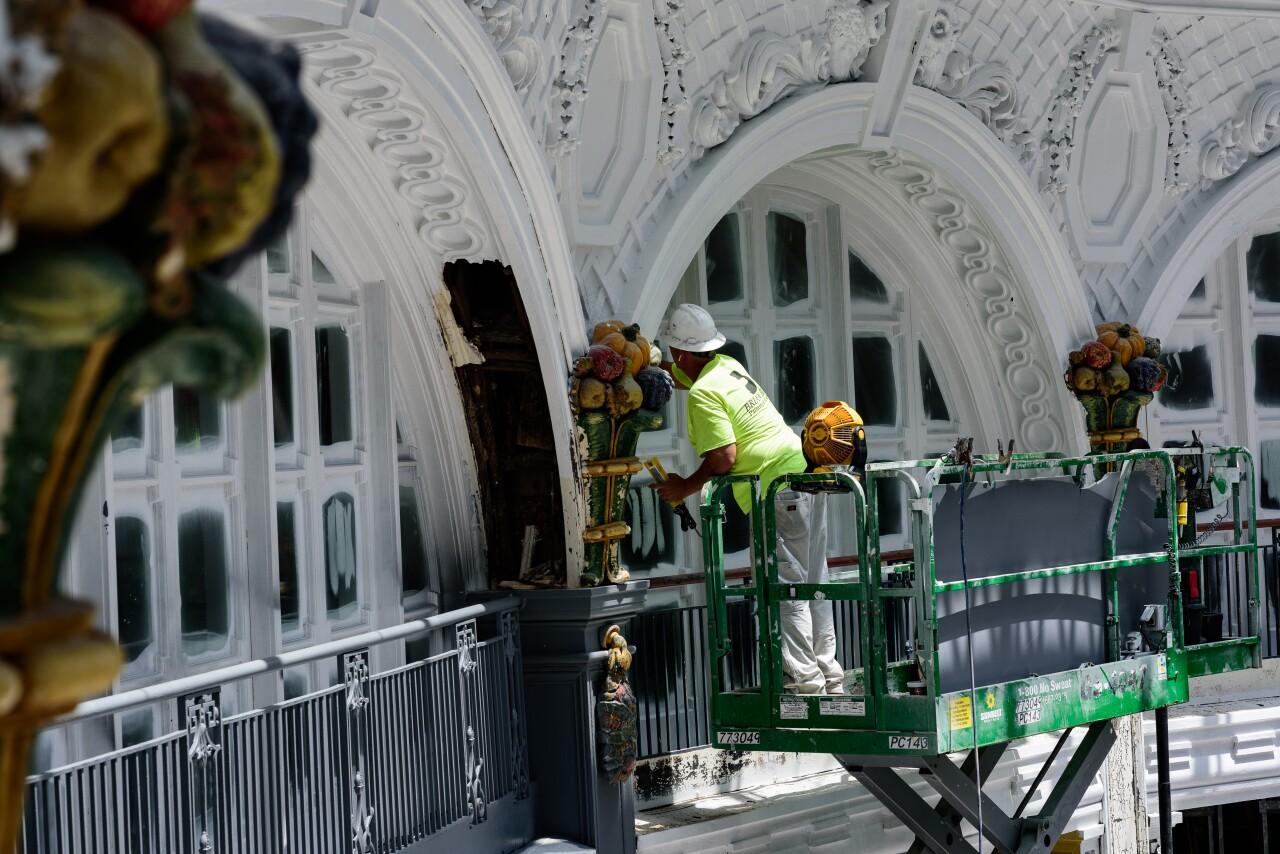 Dayton Arcade rotunda restoration