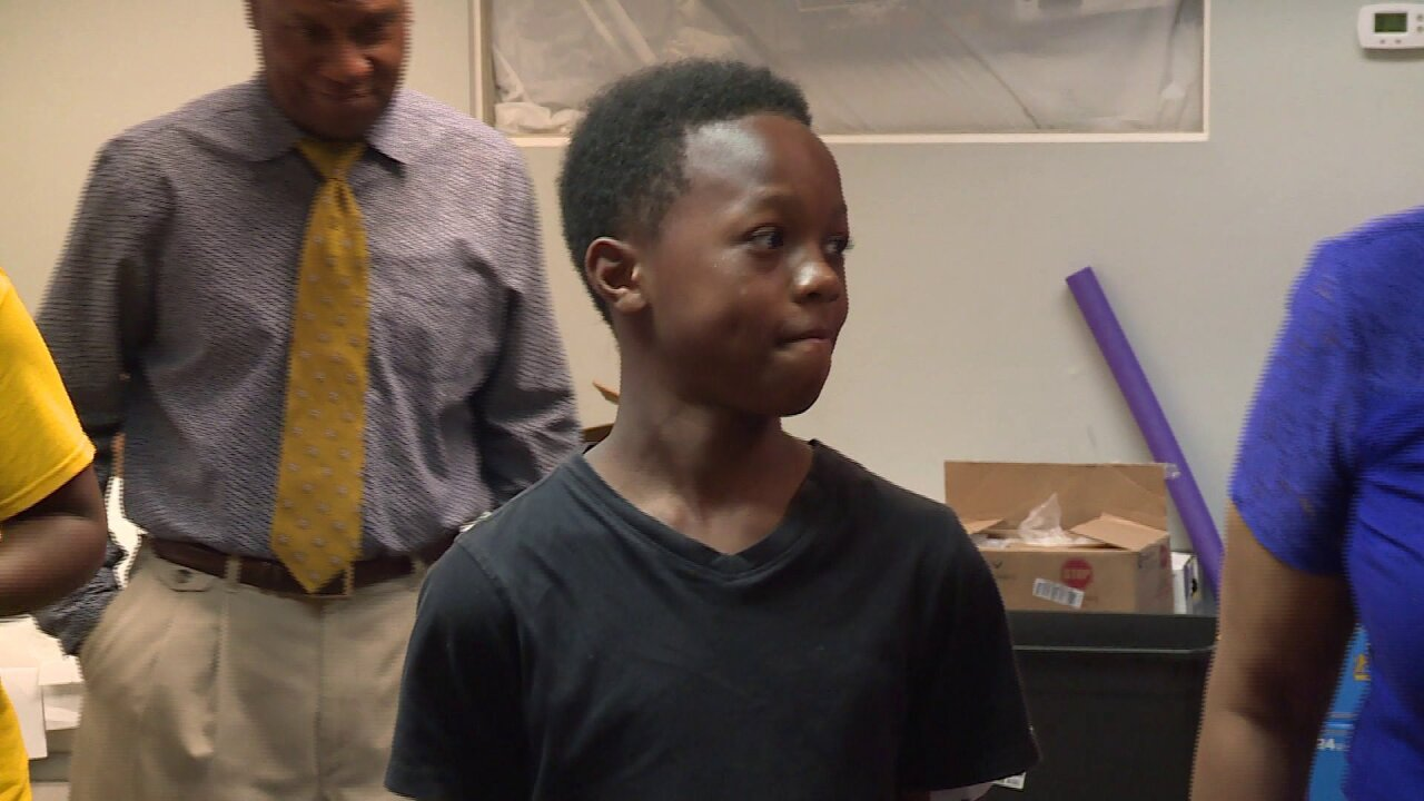 'Blessed' 11-year-old boy recovering after deadly shooting in Richmondpark