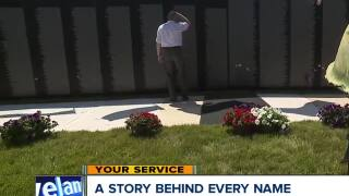 Vietnam Wall replica comes to Northeast Ohio