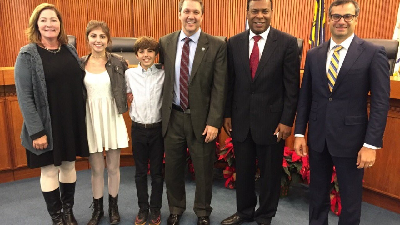 Doug Smith sworn in as Norfolk Interim City Manager