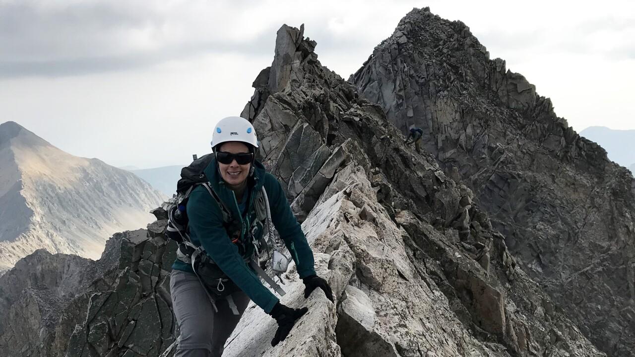 Jennifer Bealer_Knife edge at Capitol Peak