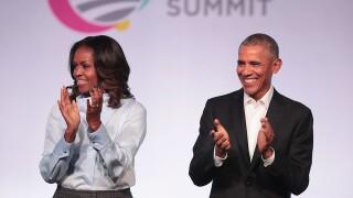 Obamas: Parkland students 'helped awaken the conscience' of US on gun violence