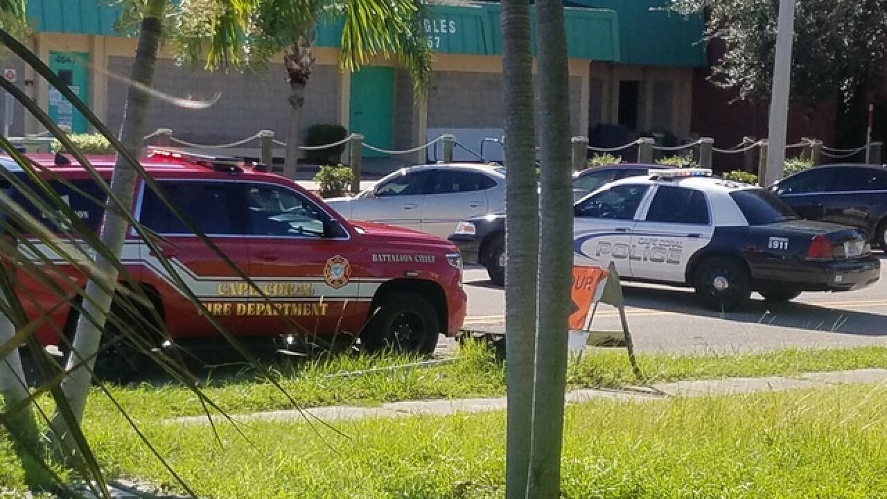 Hazmat on scene in Cape Coral