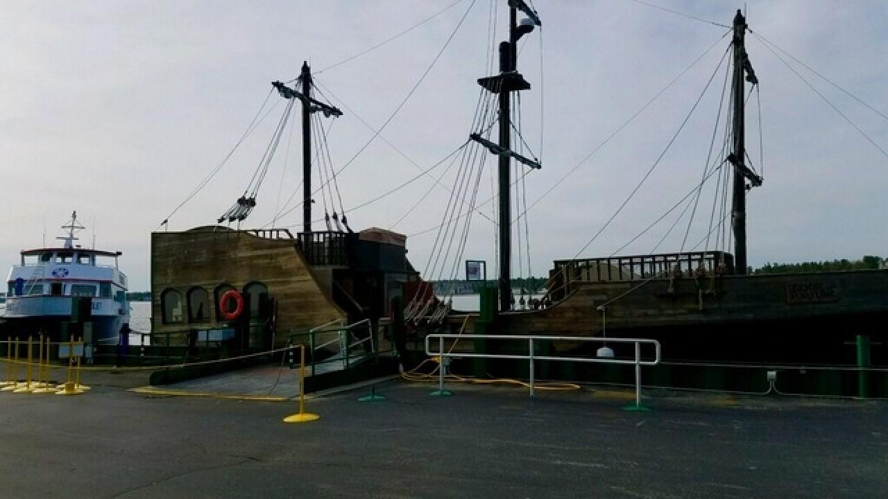 Pirate ship to set sail on Straits of Mackinac