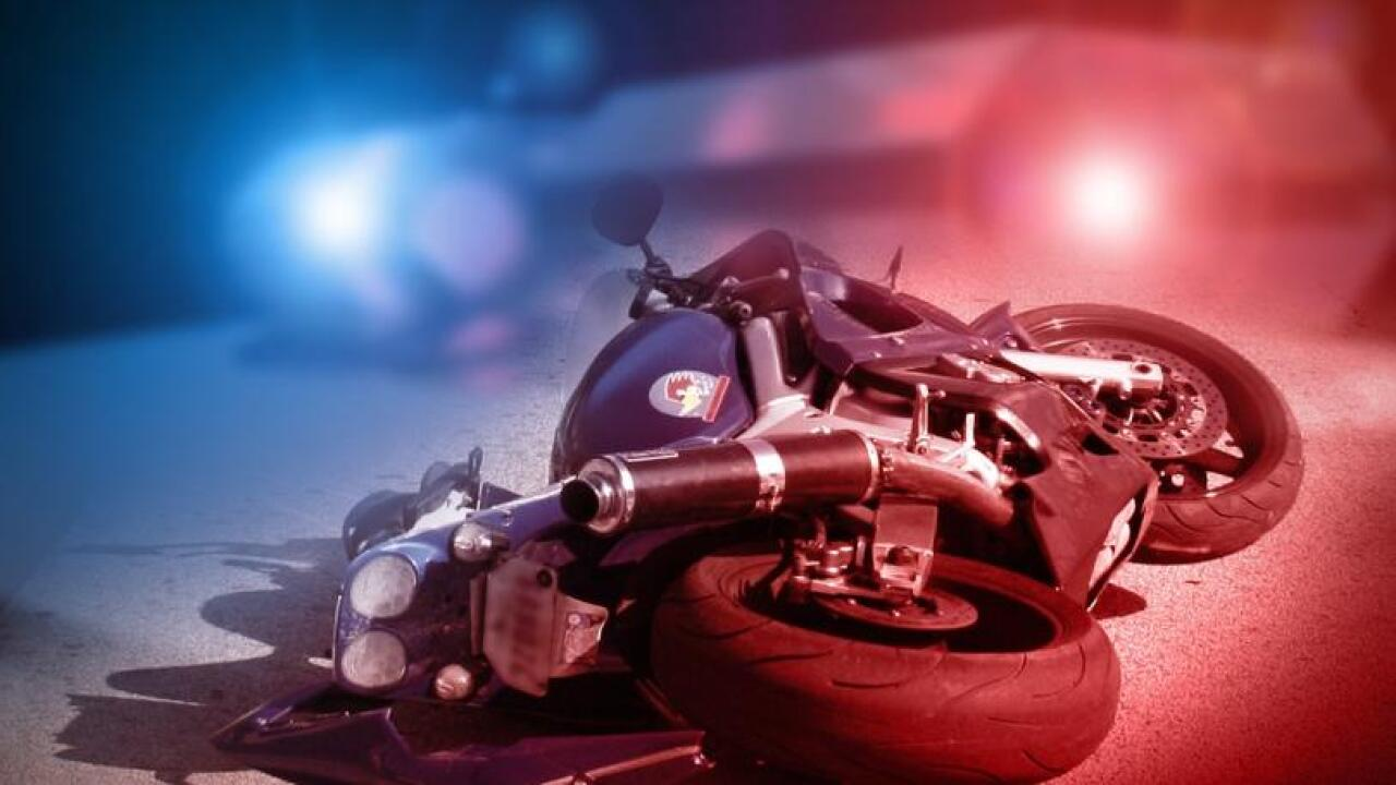 Several Lansing firefighters hurt in motorcycle crash in west Michigan