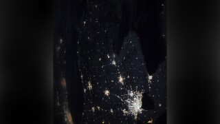 Michigan-native NASA astronaut takes incredible photo of the Mitten at night from outer space