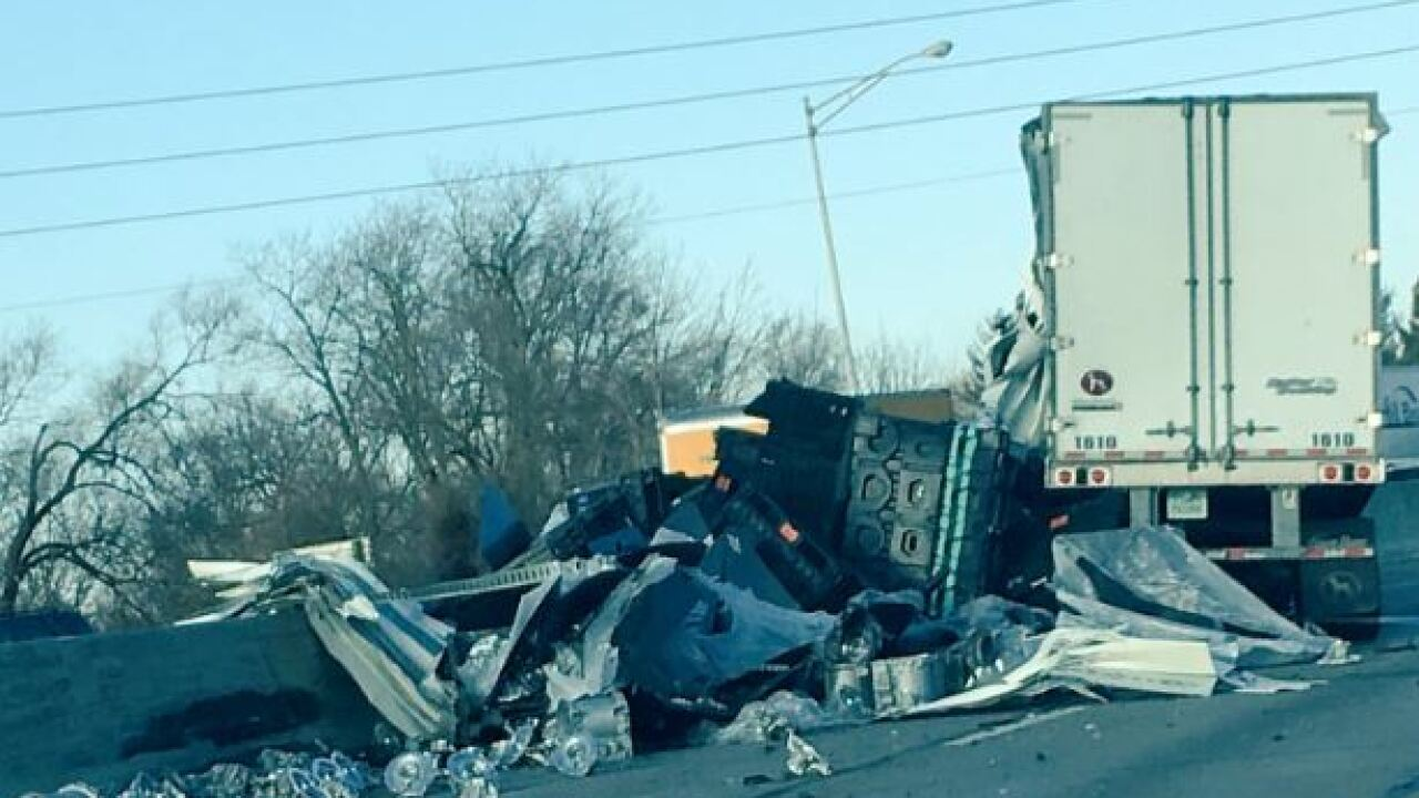 All lanes of I-65 reopened after serious crash near 38th Street