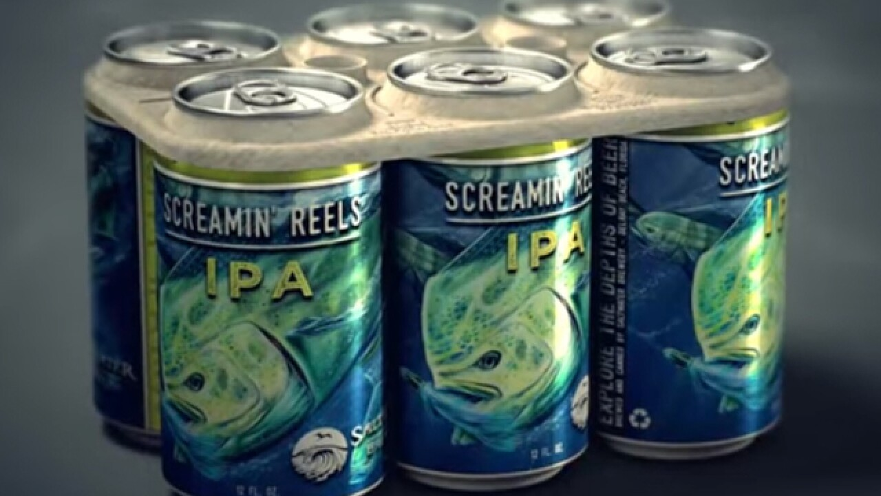 Delray brewery creates edible six-pack holder