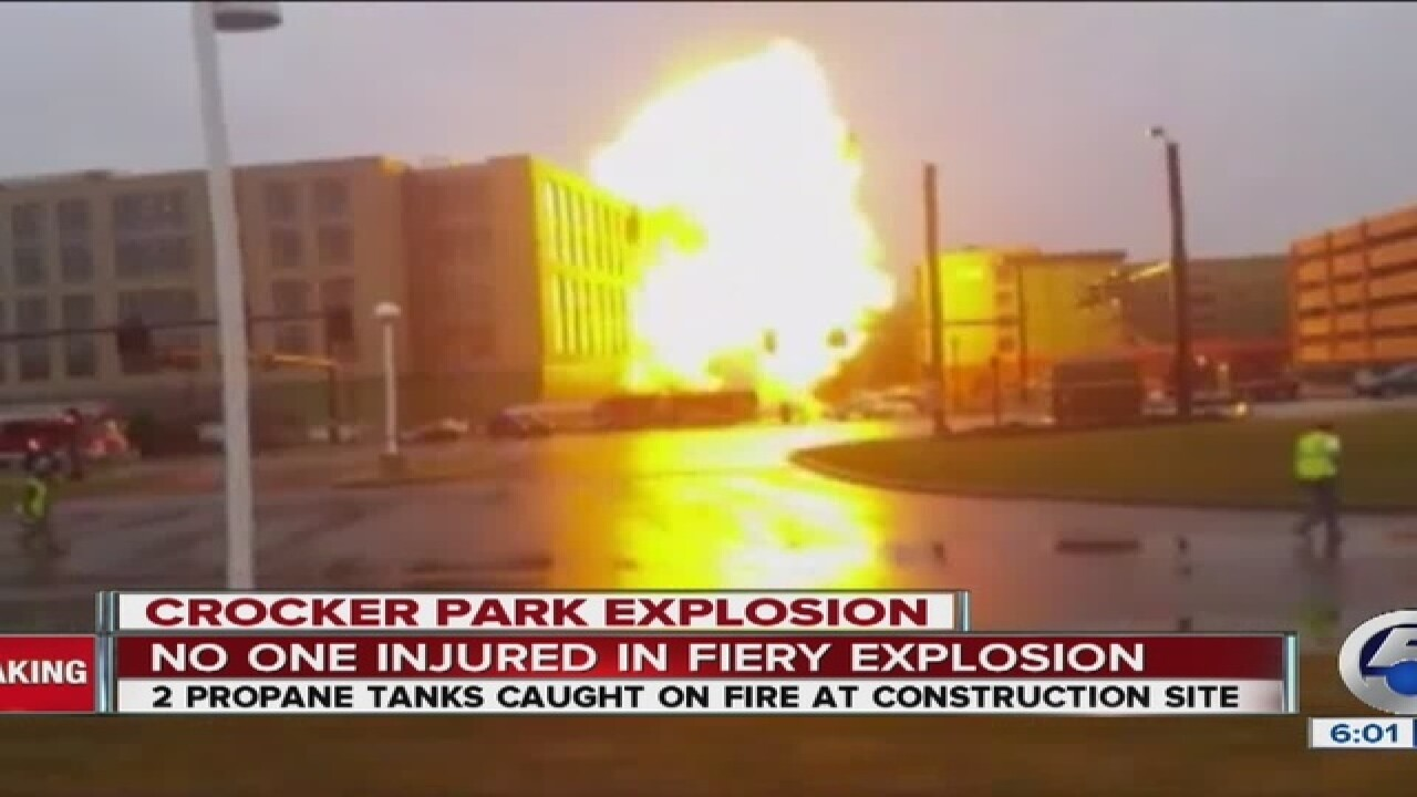 """Witness to explosion: """"It was insane"""""""