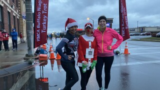 125 runners are running in this smaller 125th annual Turkey Trot