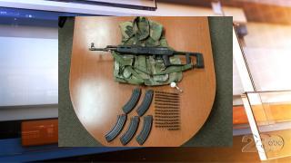 Ridgecrest Gun Arrest