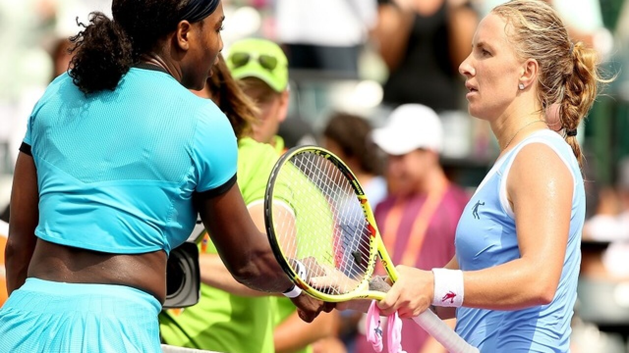 Serena Williams upset by Kuznetsova in Miami