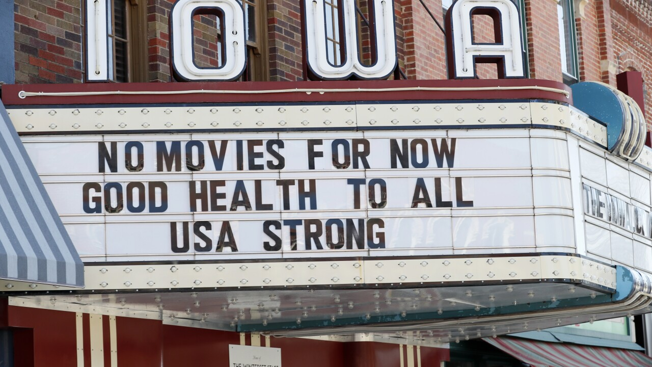 In shutdown, a glimpse of life without movie theaters