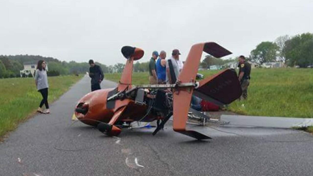 Officials investigate plane crash in NorthamptonCounty